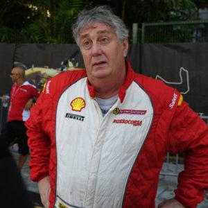 James Weiland (USA) at Ferrari Challenge Asia Pacific, Marina Bay Street Circuit, Singapore, 16-18 September 2016.
