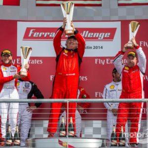 ferrari-austin-2014-cs-podium-winner-james-weiland-second-place-robert-herjavec-third-plac
